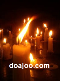 مجموعه دعای محبت با شمع